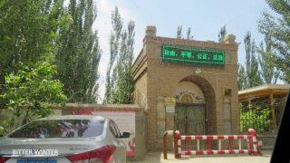 Altre moschee distrutte nello Xinjiang