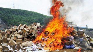 Il PCC sequestra e brucia i libri cristiani