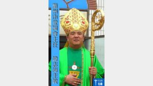 Il vescovo Joseph Han Zhihai