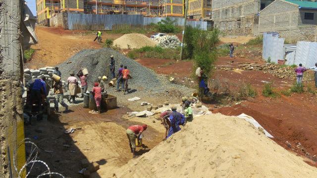 lavoratori in kenya