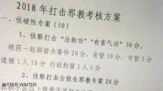 Agenti licenziati Se non arrestano i credenti, vengono licenziati anche i polizotti