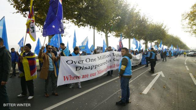Dimostrazione di Ginevra