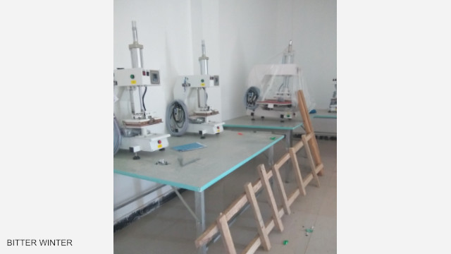 Macchinari e attrezzature sono già stati installati nello stabilimento