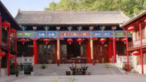 Il palazzo Yaochi prima della demolizione