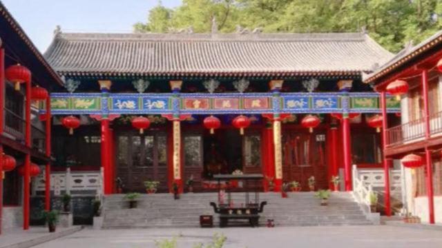 tempio taoista, il palazzo Yaochi prima della demolizione