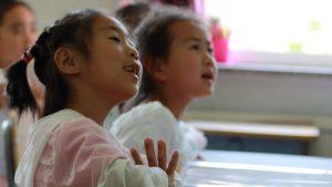 bambini della scuola domenicale