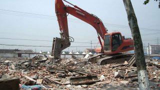 Demolito in rovina