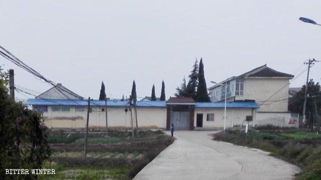 Una scuola elementare abbandonata nel villaggio di Zaoshu, nello Shaanxi, trasformata in un centro per l'educazione alla legge