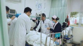 Il dottore salva il paziente