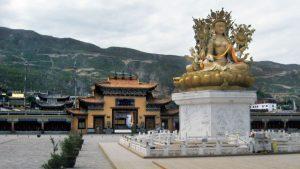 Il monastero di Rongwo nella Prefettura autonoma tibetana di Huangnan