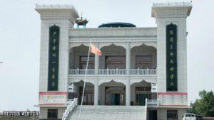 La grande moschea Wujiawan dopo le modifiche