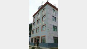 La chiesa dell'Annunciazione nella diocesi dello Yujiang, nella contea di Nanfeng