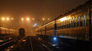 treno speciale di notte