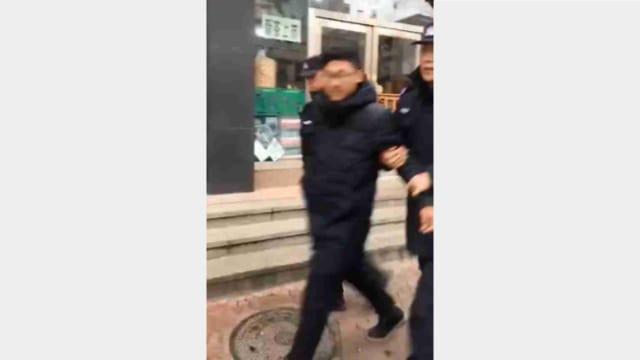 Alcuni manifestanti arrestati