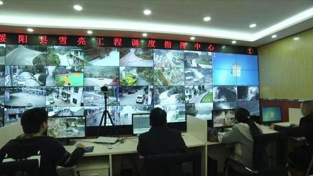 Sistema di monitoraggio di Project Dazzling Snow