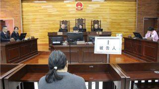 Essere condannato per aver distribuito volantini del Falun Gong