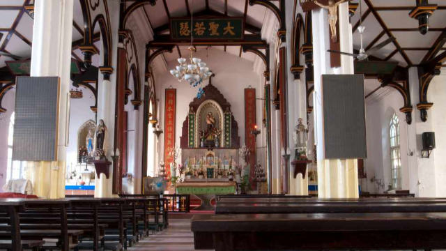 chiesa cattolica Cinese