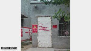 Numerose case di anziani poveri sono state sigillate dalle autorità