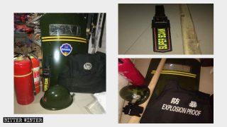 L'attrezzatura antiterrorismo che tutti i negozi sono tenuto ad avere