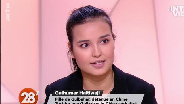 Gulhumar ha rilasciato un'intervista al programma di notizie Arte