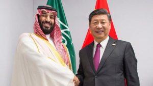 Mohammed bin Salman e Xi Jinping
