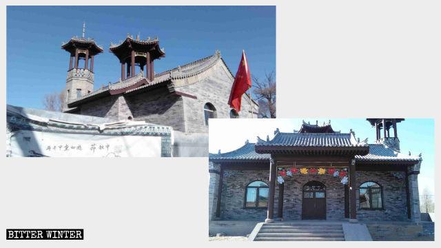 Una moschea in costruzione nella provincia dello Shanxi progettata per apparire autenticamente cinese