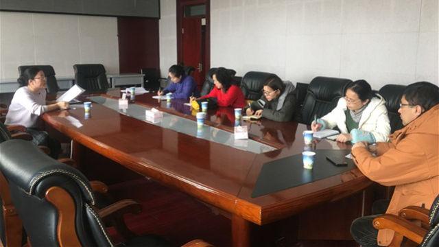 Un incontro di docenti della Xinjiang Radio & Television University