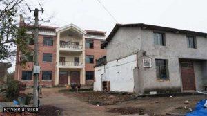 La casa di Xu Meilan dopo che la cucina è stata distrutta