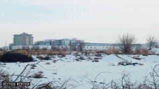 Una prigione in cui sono detenuti gli uiguri a Jiuquan una città nel Gansu