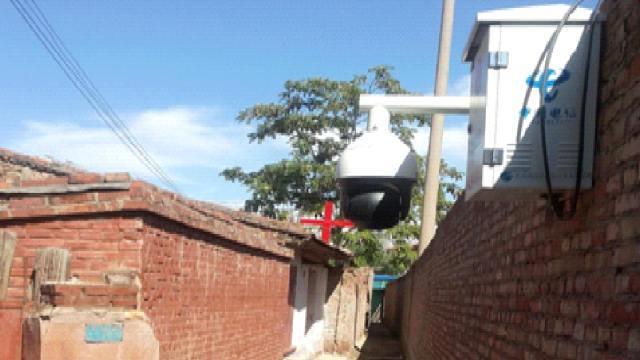 Un luogo di incontro nella provincia del Gansu messo sotto sorveglianza