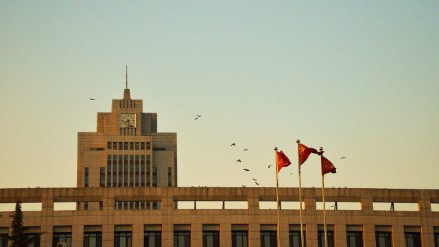 Un'università in Cina