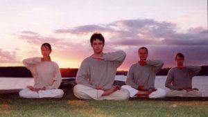 Fedeli del Falun Gong a Sidney, in Australia