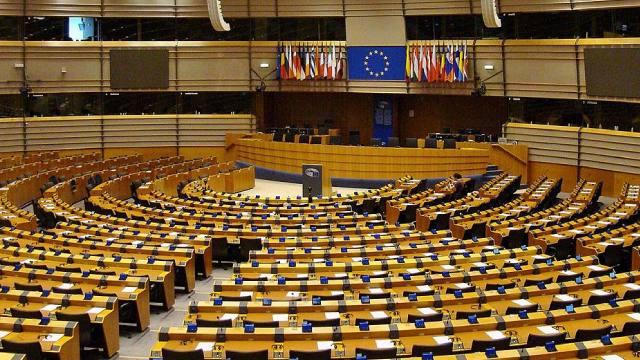 emiciclo di Bruxelles
