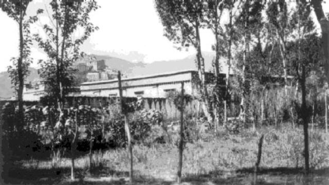 La Gyantse English School a metà degli anni 1920