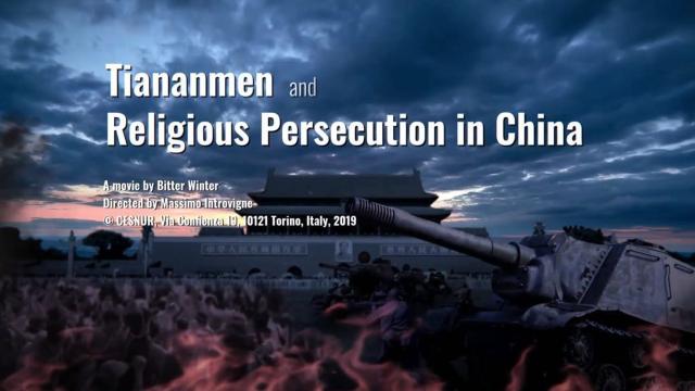 Piazza Tiananmen e la persecuzione religiosa in Cina