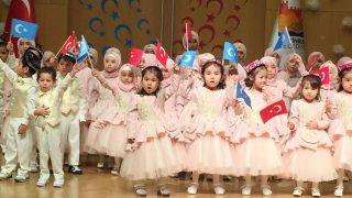 Bambini uiguri, molti di loro