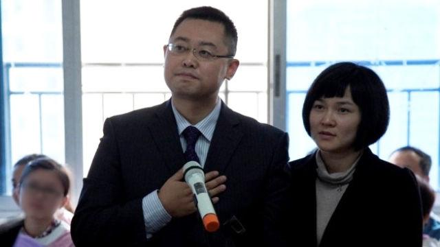 Il pastore Wang Yi e la moglie Jiang Rong