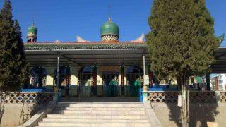 L'aspetto originario della moschea di Beida