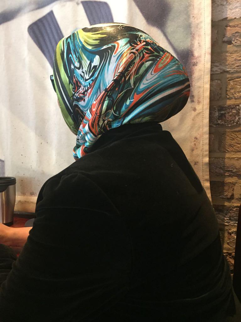 Risalat ha accettato di parlare con Bitter Winter, ma ha ancora paura di mostrare il proprio volto