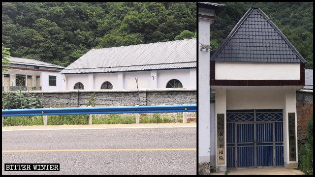 Le autorità locali si sono appropriate della chiesa del borgo di Shizimiao in cambio di una piccola percentuale del suo valore reale