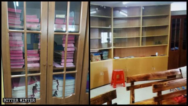 Confiscate copie della Bibbia e di altri libri religiosi