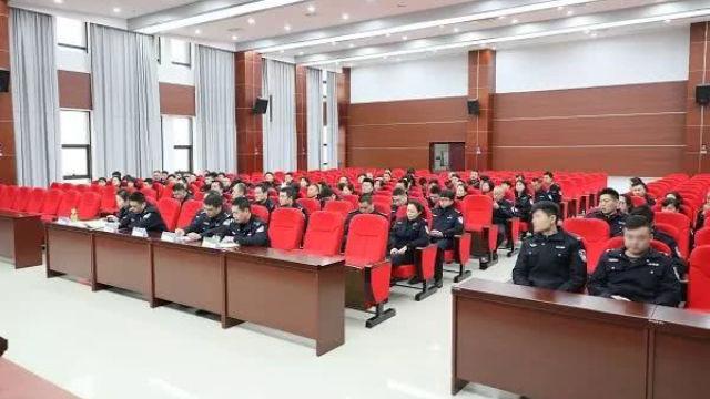 Una sezione dell'Ufficio per la sicurezza pubblica della città di Xiangtan nella provincia dell'Hunan ha convocato un incontro per promuovere la campagna per «fare piazza pulita delle bande criminali ed eliminare il male»