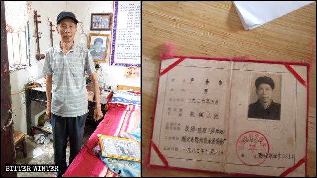 Yan Chunxiang è in possesso da molti anni del permesso di lavoro