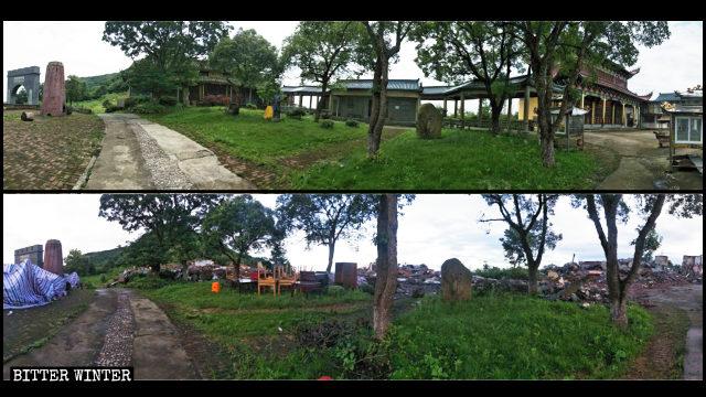 Il 2 luglio è stato demolito il tempio della Guanyin a Wenling
