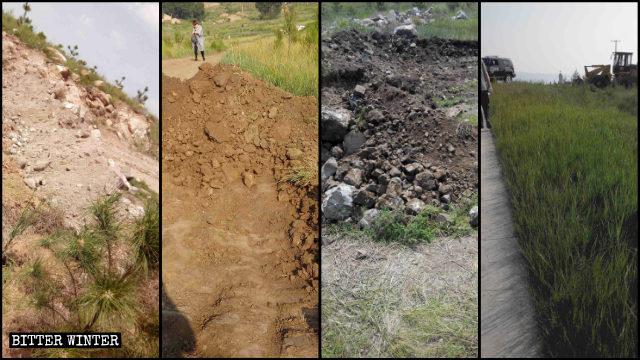 Le scorciatoie verso il luogo del pellegrinaggio sono state scavate o ostruite in altro modo