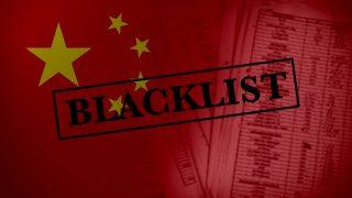 Cosa comporta finire nella black list del regime