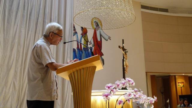 Il 15 settembre il cardinale Zen ha guidato la preghiera per Hong Kong nella chiesa di Nostra Signora del Monte Carmelo