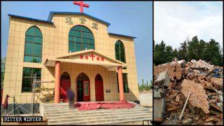 Il governo imbroglia i fedeli per demolire le chiese