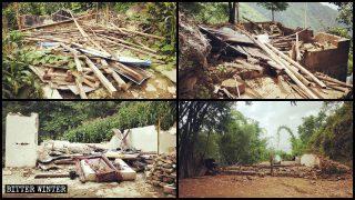 Chiese domestiche demolite, fedeli arrestati