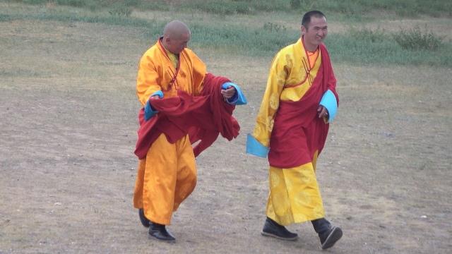 Monaci buddhisti in Mongolia